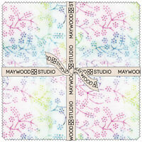 Bejeweled Batiks by Maywood Studio (42) 10 inch Squares Layer Cake