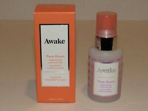 Awake Pore Down Tightening Concentrate 1.7 Oz DELUXE Travel Sz Face Reduce Pores