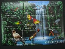 Central Africa  2001 birds  sheetlet  SCOTT No.1409  I201807