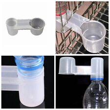 5PCS Plastic Pet Bird Drinker Feeder Water Bottle Accessory For Chicken Pigeon