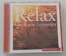 CD / klassische Musik / Relax / total 72:40 / Zustand neuwertig!