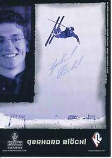 Gerhard Blöchl ski freestyle autografiada tarjeta firmada 374440