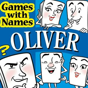 OLIVER'S GAME: Fun gift idea especially for boys called Ollie or Oliver