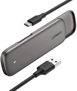 UGREEN M.2 Enclosure for SATA NGFF SSD Aluminum USB 3.1 Gen 2 to B M B-Key 2280
