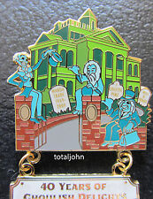 Disney DLR Create-A-Pin The Haunted Mansion 40 Years of Ghoulish Delights Pin