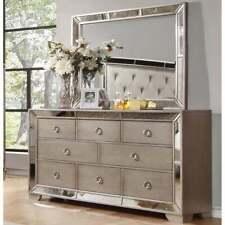 Best Master Furniture Silver Bronze Mirror Only
