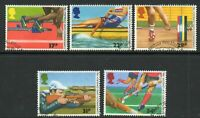 1986 Commonwealth Games Used Postage Stamps