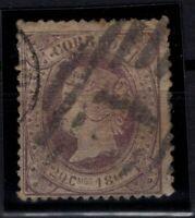 P133238/ SPAIN – ISABELLA II – EDIFIL # 86 USED – CV 115 $