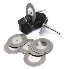 10x Mini Diamant Trennscheiben 35mm Schleifer Schleifgerät Schleifmaschine / D27