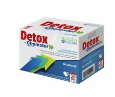 DETOX + CHOLESTER 60 tabl. / oczyszczanie organizmu, wspomaganie wątroby