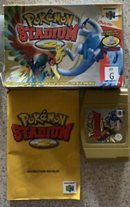 Pokemon Stadium 2 Nintendo 64 N64 boxed