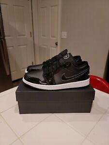 New Nike Air Jordan Retro 1 Low ASW Black White Men's 9.5 ⚫ Sneakers DD1650-001