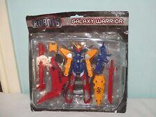 Vintage Galaxy Guerrero: Rise Of The Robots. figura De Acción Con Embalaje