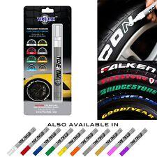 Tire Ink Permanent Marker For Tire Sticker Lettering Paint Pen USA Seller WHITE