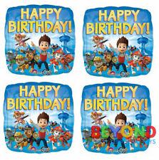 "Paw Patrol Happy Birthday Party Mylar Foil Balloon 18"" Anagram"