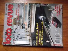 $$z Loco-Revue N°518 Jura  Micheline en HO  EAD  PC 101  attelages Kadee  JAO