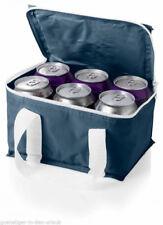 Kühltasche klein & handlich für 6 Dosen  Kühlbox dunkelblau