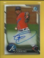 Tyrell Jenkins AUTO RC 2016 Bowman Chrome Prospects Autographs Rookie # BCAP-TJ