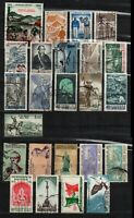 Mexico 1960-1962 24 Stamp lot different all used as seen combine shipping