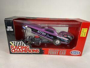 Wyatt Radke 1996 NITRO Bandit Racing Champions Funny Car 1:24 scale New