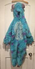 Disney Pixar Sully Costume Monster's Inc Faux Fur fuzzy costume