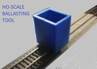 HO Scale Ballasting tool for Model Railroad (High Quality)