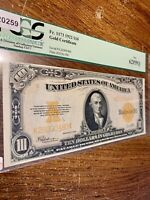 $10 1922 Gold Certificate United States Of America Fr#1173 PCGS 62PPQ NEW Graded