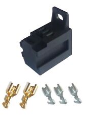 MICRO Relay BASE for 4 or 5 pin relays - Supplied with Terminals