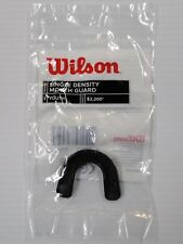 Wilson Single Density Strapless Youth Mouth Guard Black