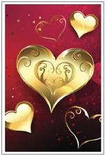Website Internet Username Password Diary Journal Book Logbook Gold Hearts