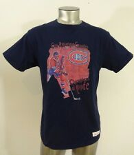 Montreal Canadiens NHL Hockey Mitchell & Ness men's t-shirt blue L