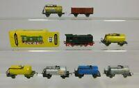 AQ941-1# 8x Schiebetrix/Minitrix/ DUMMY 1:160  Lok/ Güterwagen defekt/ Bastler