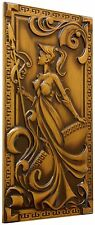 HANDMADE CARVED WOODEN DECORATIVE WALL PANEL FINE ASH-TREE WOOD COOL GIFT IDEAS
