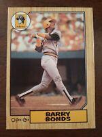 1987 O-Pee-Chee Barry Bonds RC #320 ~~ NICE~~LOOK