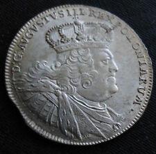 ORT, AUGUST III ,1755 LIPSK , ( 18 groszy),silver.POLAND,