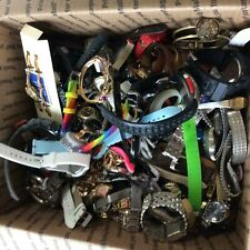 HUGE WATCH LOT Men's & Women's 10-POUNDS 10-lb 10lbs of Repair Steampunk Parts