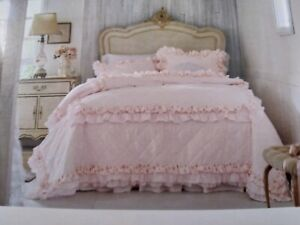 Simply Shabby Chic King Quilt  New