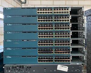 CISCO WS-C3560X-24T-S Catalyst 3560X 24 Port Switch,Free Shipping, Rackmounts!