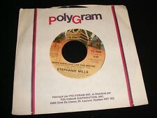 "STEPHANIE MILLS<>NEVER NEW LOVE,..<>45 Rpm,7"" Vinyl ~Canada Pressing~TC-2460"