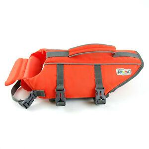 Outward Hound Dog Life Jacket Size Small 15-30 lbs Safety Preserver Orange