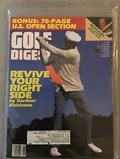 Golf Digest 1986 Gardner Dickinson Nmt