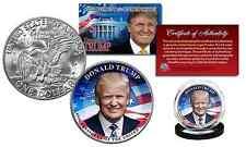 DONALD TRUMP 45th President Official Legal Tender IKE EISENHOWER One Dollar Coin