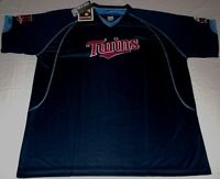 Minnesota Twins Legacy Of Champions Jersey Shirt 2XL Cooperstown Navy MLB
