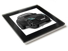 Cartoon Car E Pace Sport SUV Glass Table Coaster with Gift Box