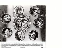 C685 Oliver Reed Charlton Heston Raquel Welch Mark Lester 7 3/4 x8 vintage photo