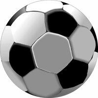 "Soccer Ball sign Aluminum Metal Sign 8"""