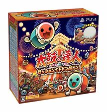 PS4 TAIKO NO TATSUJIN Drum & Game set Free Shipping with Tracking# New Japan