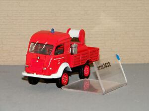 RENAULT 4x4  Pompiers 1er Secours Service d'Incendie du Var SOLIDO 1/50 Réf 1501