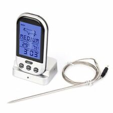 Funk Grillthermometer Display Braten Grill Thermometer Bratenthermometer Fleisch