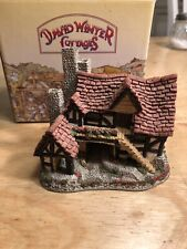 """David Winter """"The Bothy� Cottage With Box Mint"""